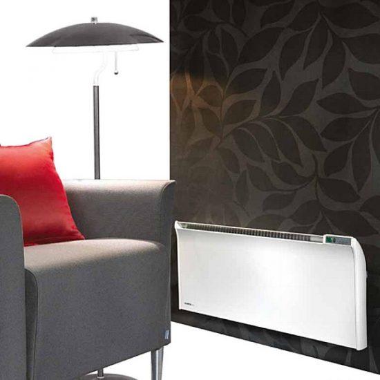 Glamox TPA G 15 1500w fűtőpanel digitális termosztáttal 35cm magas
