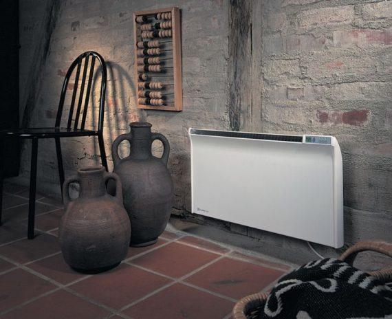 Glamox TPA G 20 2000w fűtőpanel digitális termosztáttal 35cm magas