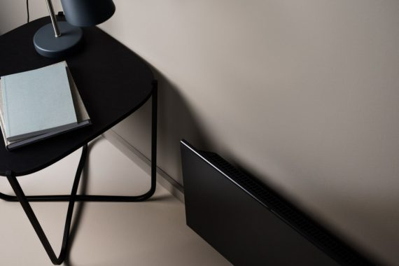 Adax Neo Wifi H elektromos fűtőpanel 1400W Gyöngyház fekete színben