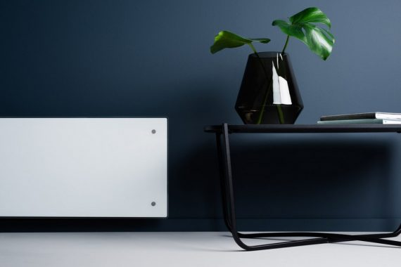 Adax Clea Wifi L elektromos fűtőpanel fekete 600 W
