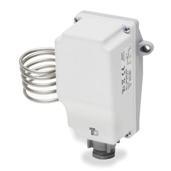 Kültéri termosztát manuális IP55